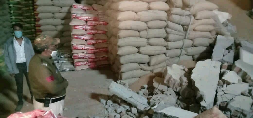उज्जैनः अरिहंत इंडस्ट्रीज में दीवार गिरने से मजदूर की मौत