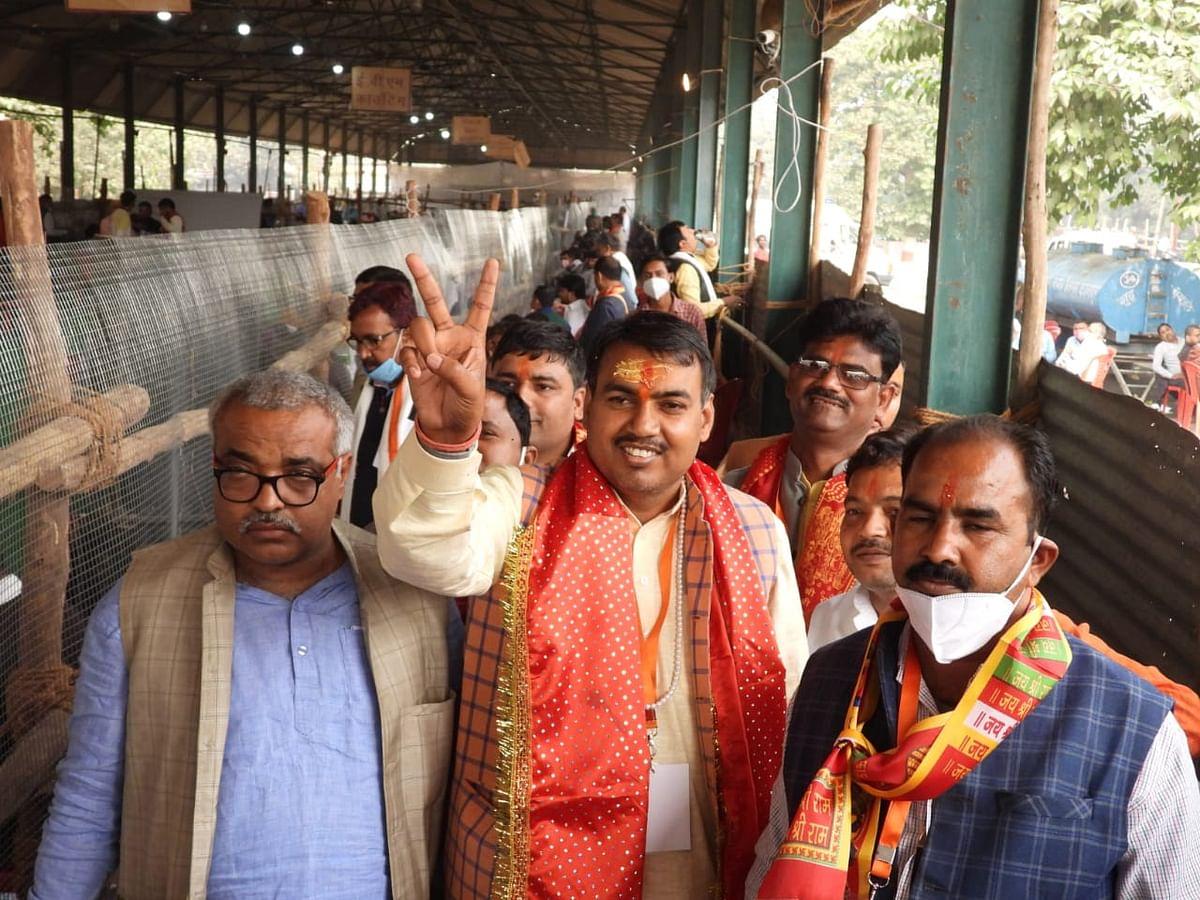 उपचुनाव : उपेन्द्र पासवान ने भाजपा को दिलाई जीत, दूसरे नंबर पर रही कांग्रेस