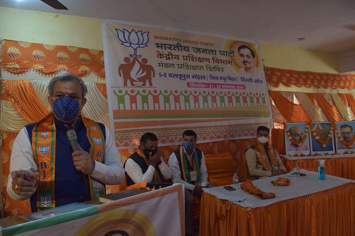 केजरीवाल के नेतृत्व में चल रही सरकार है फर्जी वादों, दावों और अभियानों की आधारशिला : गुप्ता