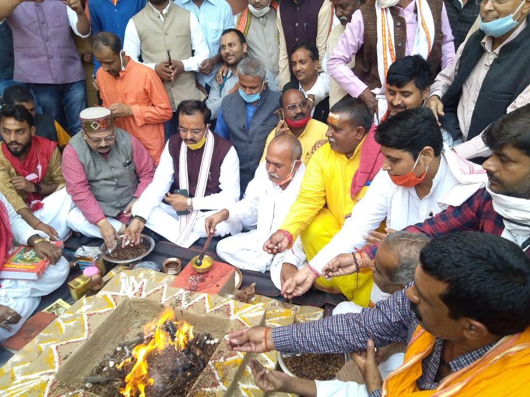 श्रद्धेय अशोक सिंघल की सोंच थी कि हिन्दू राष्ट्र के साथ परम वैभवशाली बने हिन्दुस्तान : केशव प्रसाद मौर्य