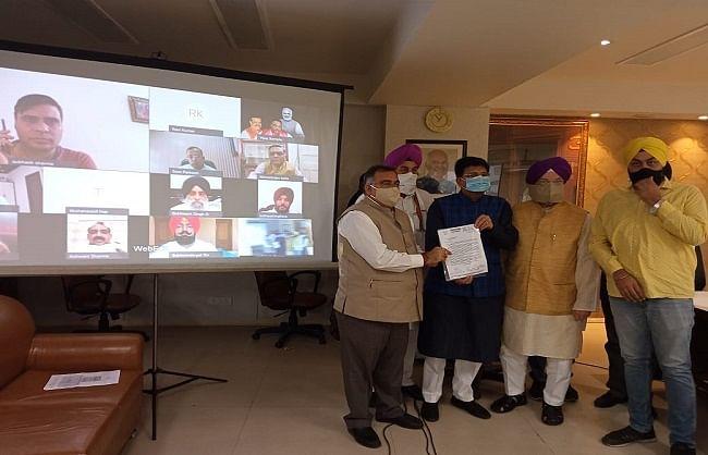 रेल मंत्री से मिला पंजाब के नेताओं का उच्च स्तरीय प्रतिनिधिमंडल ,