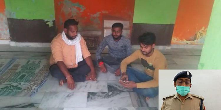 मथुरा : फिर तीन युवकों ने छाता ईदगाह मस्जिद में पढ़ी हनुमान चालीसा, गिरफ्तार