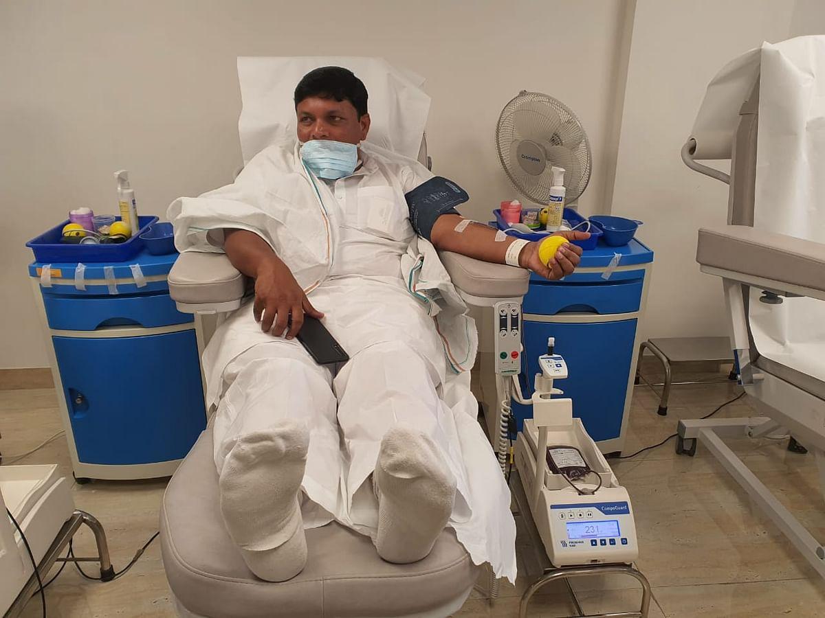 बादल पत्रलेख चेन्नई अस्पताल में इलाजरत मंत्री को देखने पहुंचे