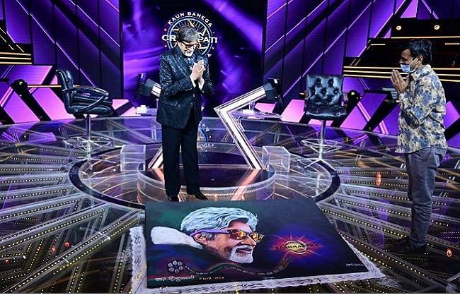 अमिताभ बच्चन ने फिल्म इंडस्ट्री में पूरे किए 51 साल, केबीसी 12 के सेट पर मिला खास तोहफा