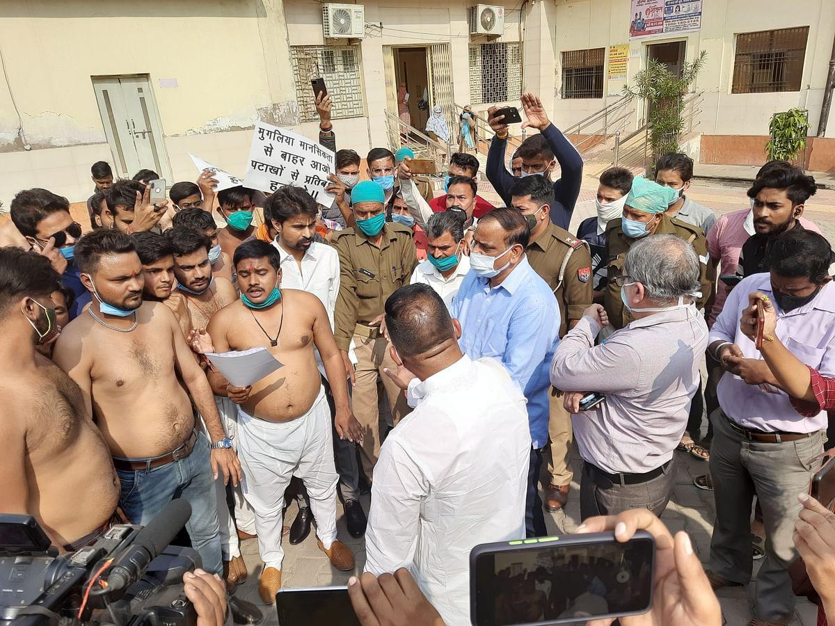 पटाखों पर बैन, हिंदुओं की आस्था का अपमान : बजरंग दल