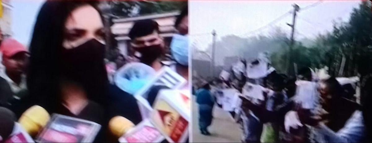 बिहार तब तक आगे नहीं बढ़ेगा जब तक लालू-नीतीश से मुक्ति नहीं मिलेगीः पुष्पम प्रिया चौधरी