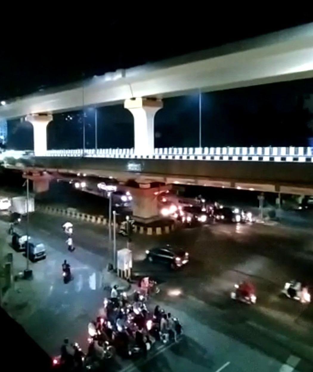 नागपुर का डबल डेकर ब्रिज यातायात के लिए खुला