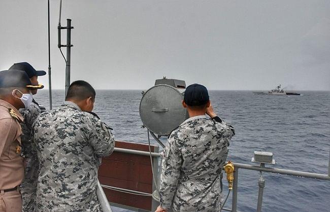 भारत-थाईलैंड नौसेना का गश्ती अभियान खत्म