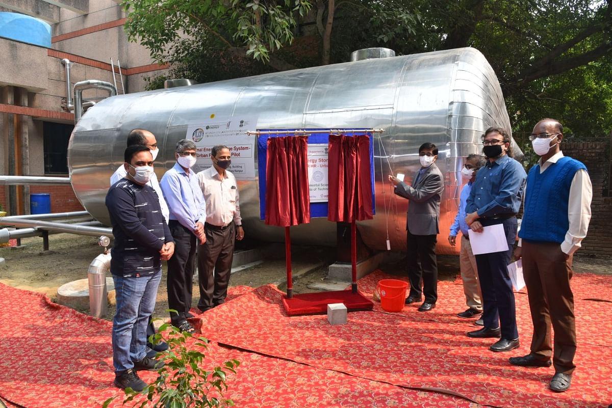 भारत अमेरिका परियोजना के तहत आईआईटी में लगी थर्मल ऊर्जा भंडारण प्रणाली