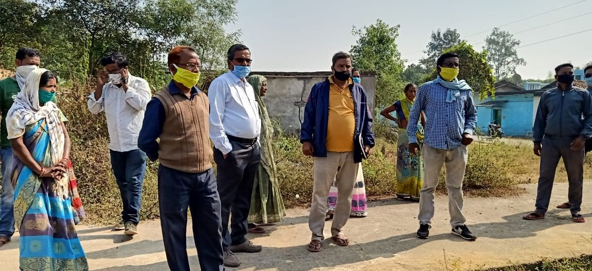 एसईसीएल के गेवरा महाप्रबंधक ने किया गंगानगर का दौरा, बुनियादी सुविधाएं उपलब्ध कराने के दिये निर्देश