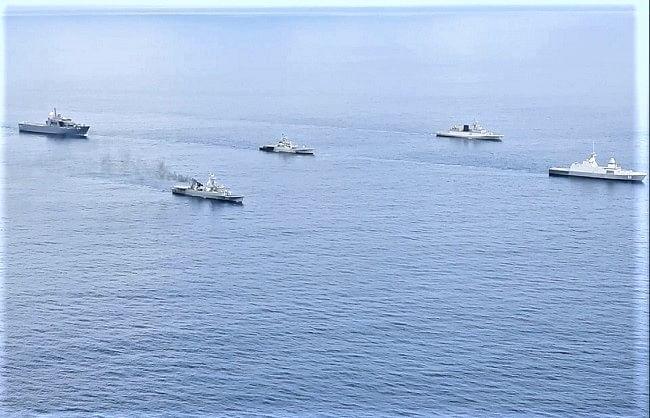 अंडमान सागर में सिंगापुर और थाईलैंड के साथ उतरी भारतीय नौसेना