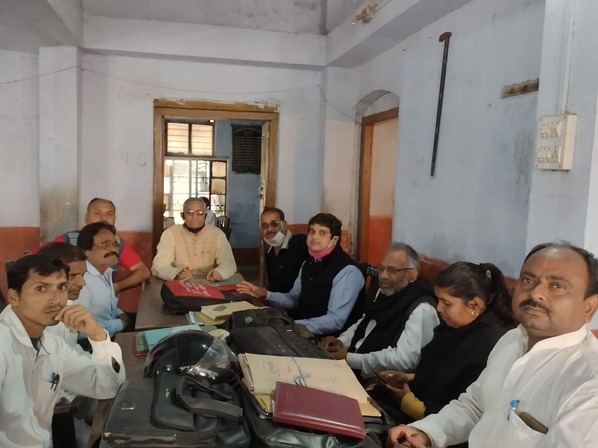लोकतांत्रिक संगठनों की हुई संयुक्त बैठक
