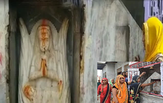 मथुरा के सुरीर गांव की महिलाएं करवाचौथ पर नहीं रखा व्रत, न किया श्रृंगार