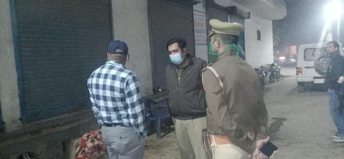 गाजियाबाद में 20 लाख कीमत के अवैध पटाखे बरामद