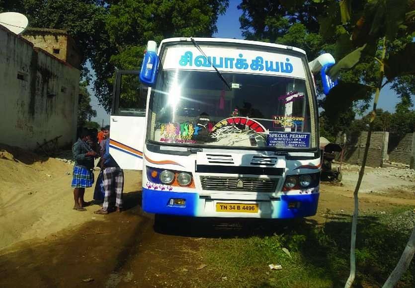 सूरजपुर : मानव तस्करी से जुड़ा बड़ा मामला सामने आया, 52 लोगों को बस से ले जाया जा रहा था तमिलनाडु