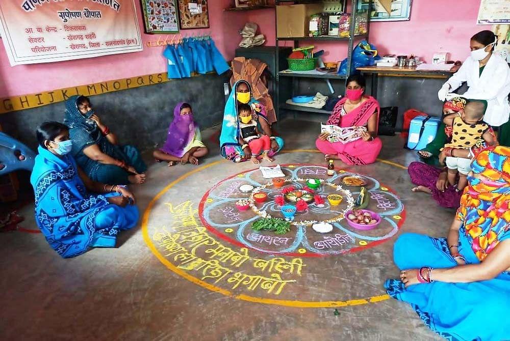 राजनांदगांव जिले में 13 हजार 524 गर्भवती महिलाओं को प्रतिदिन मिल रहा गरम भोजन