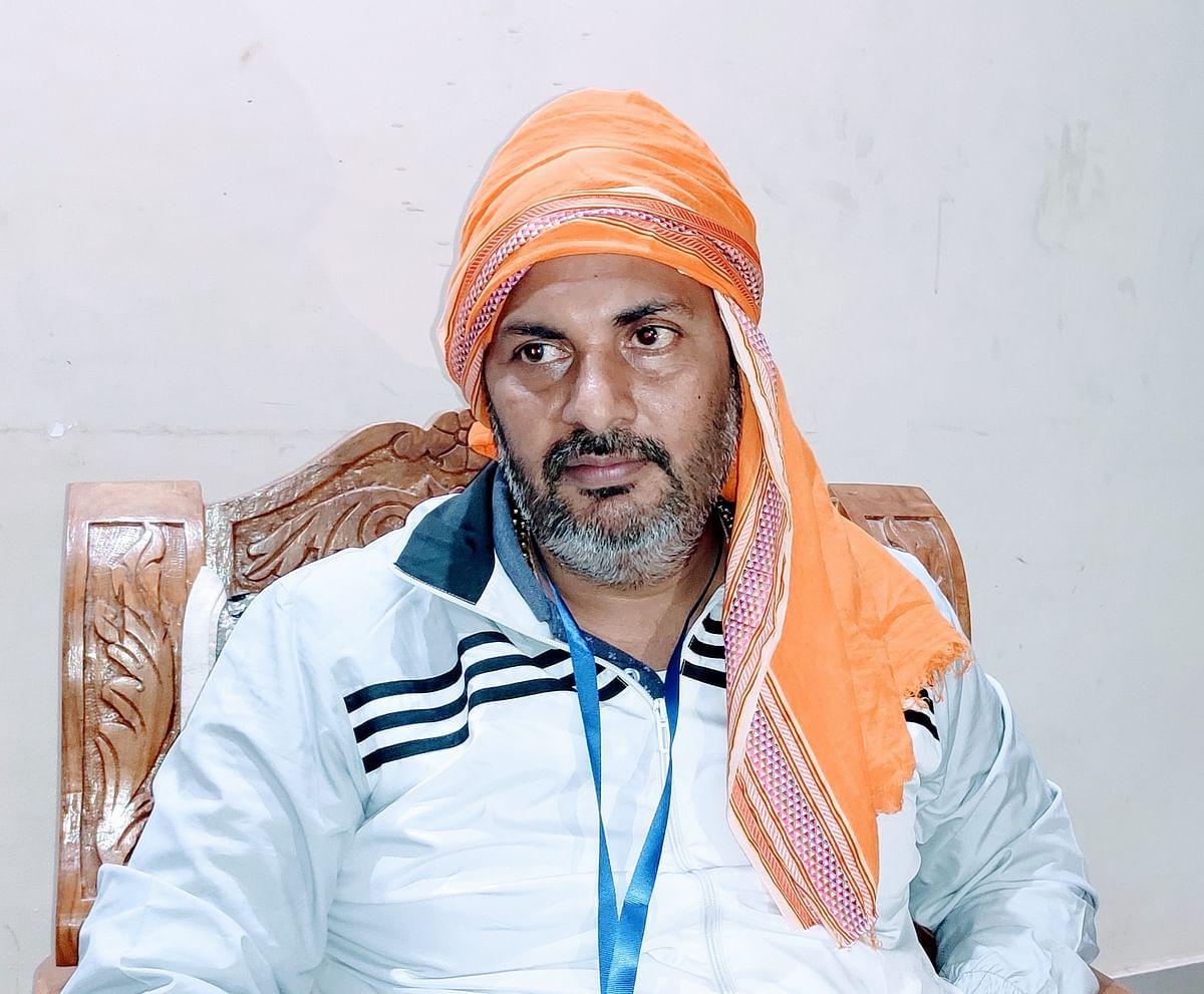 महाराष्ट्र में हो चुकी है लोकतंत्र की हत्या : खेलमंत्री उपेन्द्र तिवारी