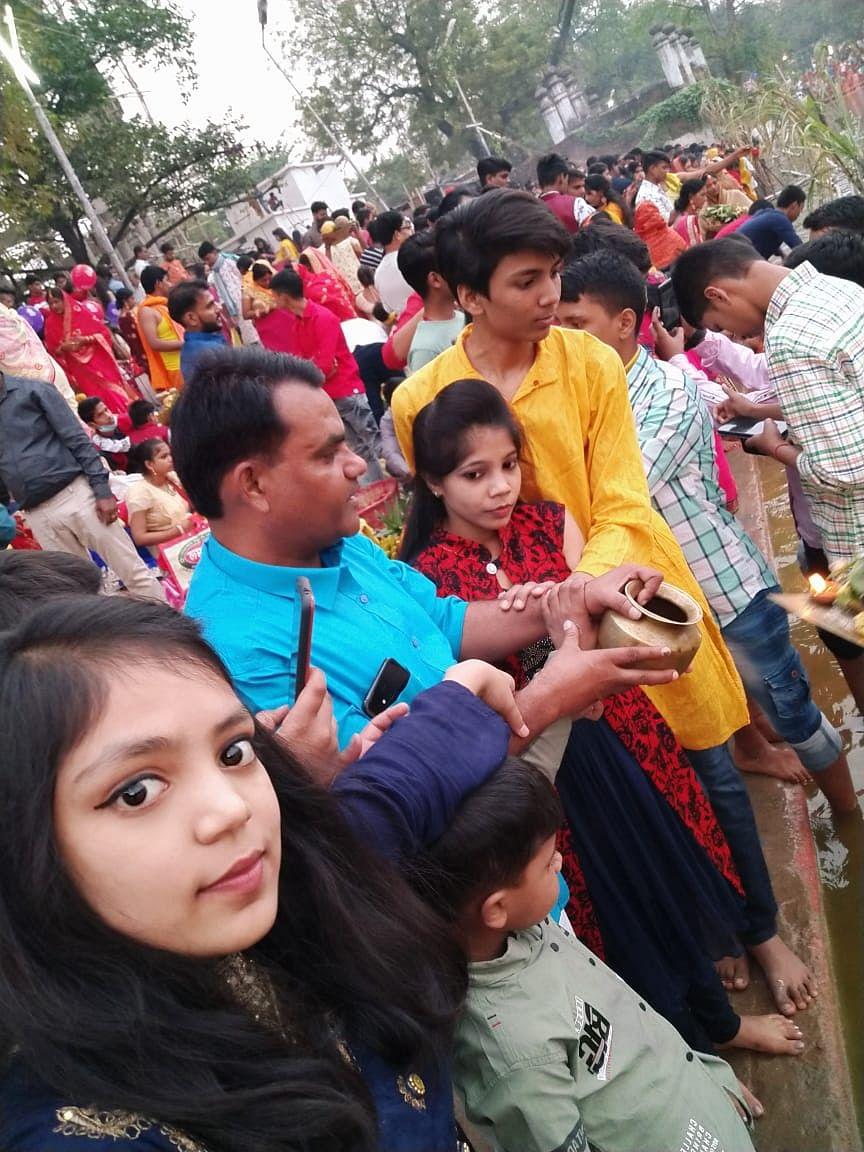 भोजपुर में उत्साह और उमंग के बीच सम्पन्न हुआ बिहार का लोकपर्व छठ