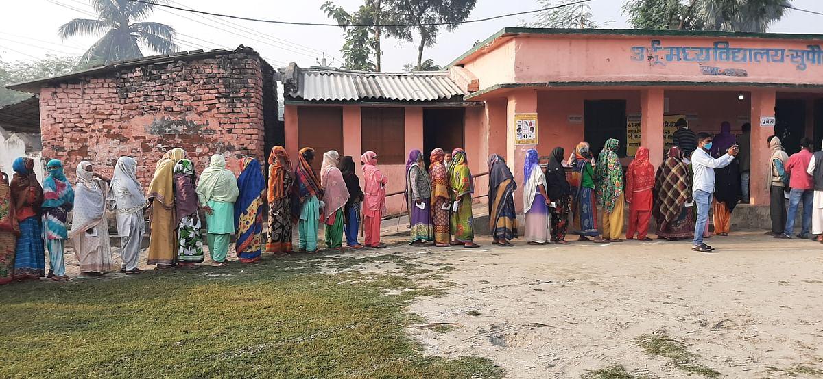 मतदान को लेकर महिलाओं में खासा उत्साह