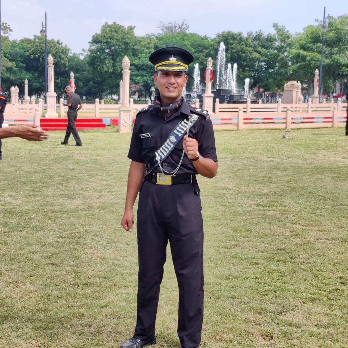 गाजियाबाद के शुभम श्रीवास्तव भारतीय सेना में बने लेफ्टिनेंट, करेंगे देश की सेवा