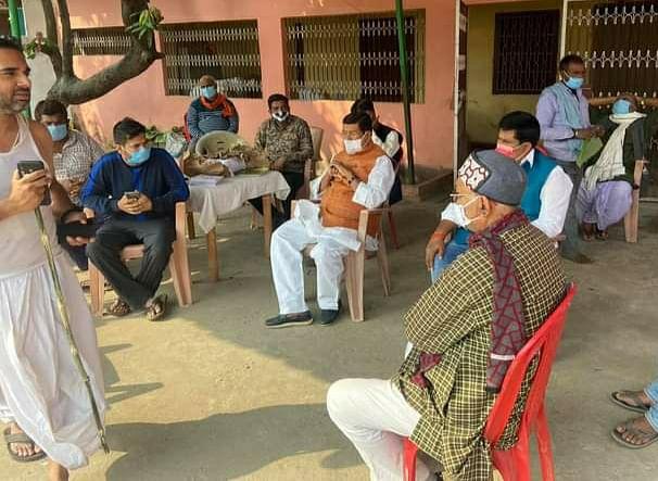 भाजपा नेता के निधन पर सांसद ने जताया शोक