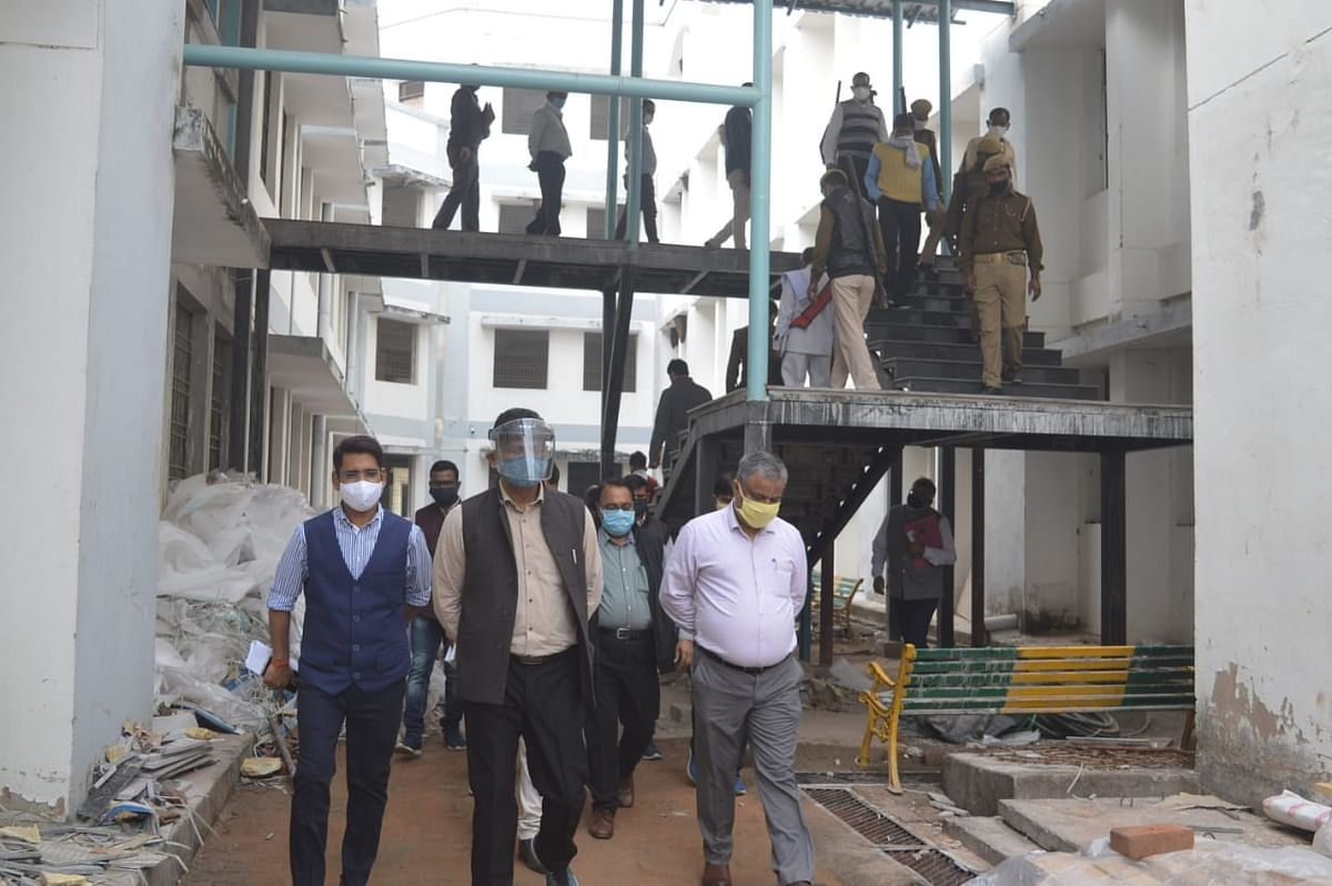 राजकीय इंजीनियरिंग कॉलेज के निर्माण कार्यों में गड़बड़ी, जांच के आदेश