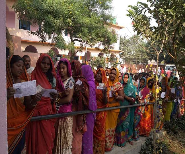 बिहारः वाल्मिकिनगर संसदीय सीट पर उपचुनाव में 56.02% मतदान