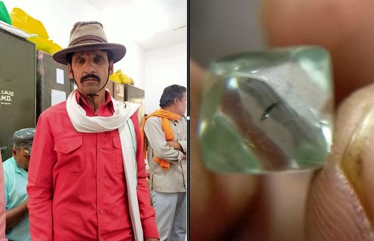 पन्ना में किसानों की चमकी किस्मत, एक करोड़ के मिले हीरे