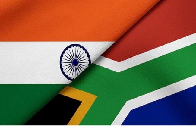 भारत ने दक्षिण अफ्रीका के साथ लगाई वर्चुअल एक्सपो