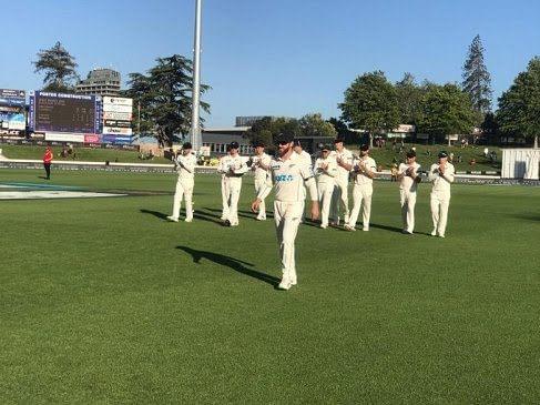 हैमिल्टन टेस्ट : न्यूजीलैंड ने अपनी पहली पारी सात विकेट पर 519 रन बनाकर घोषित की,विलियमसन का दोहरा शतक