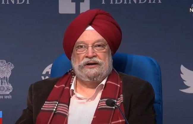There may be a ban on flights coming from Britain: Hardeep Puri
