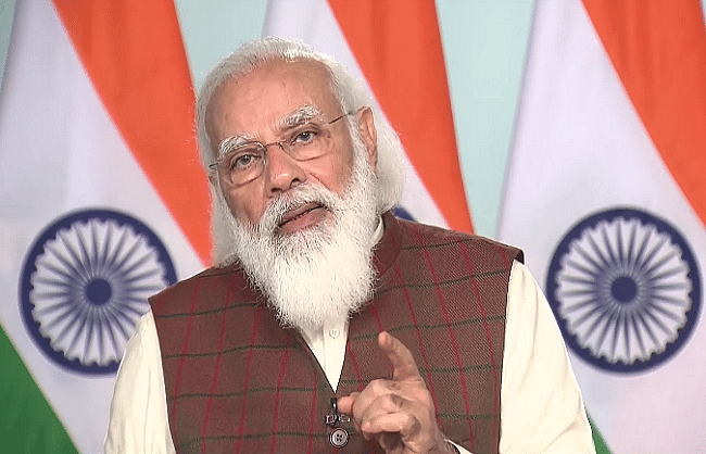 EDFC project running in files in previous government: PM Modi