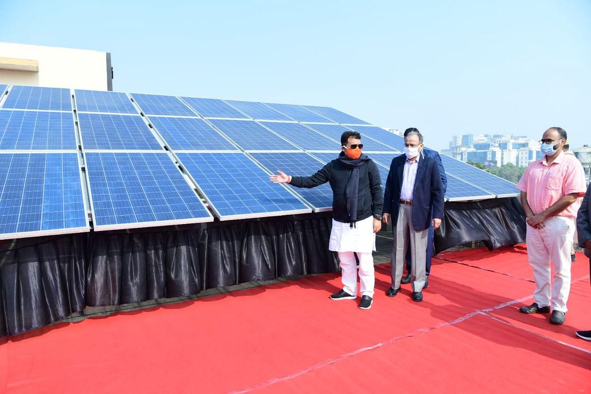 एलईडी बल्ब के प्रयोग से उप्र में 27.59 लाख टन उत्सर्जन में आई कमी : श्रीकांत शर्मा