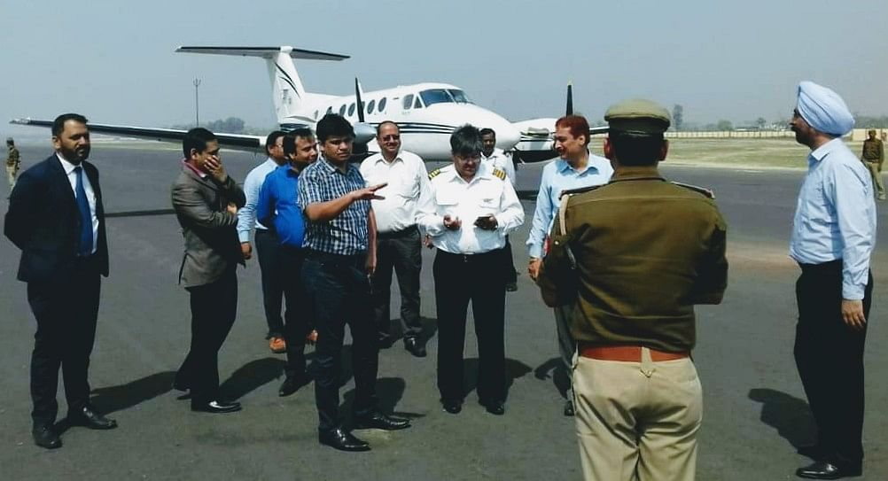 कोहरे ने लगाया कुशीनगर एयरपोर्ट से उड़ान पर ब्रेक