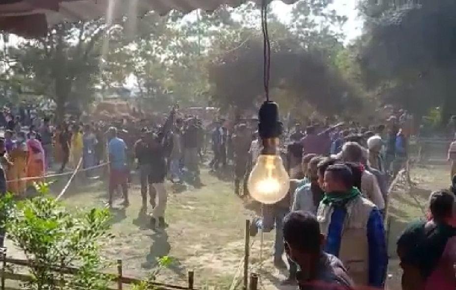 बीटीसी चुनावः पोलिंग अधिकारी के साथ मारपीट