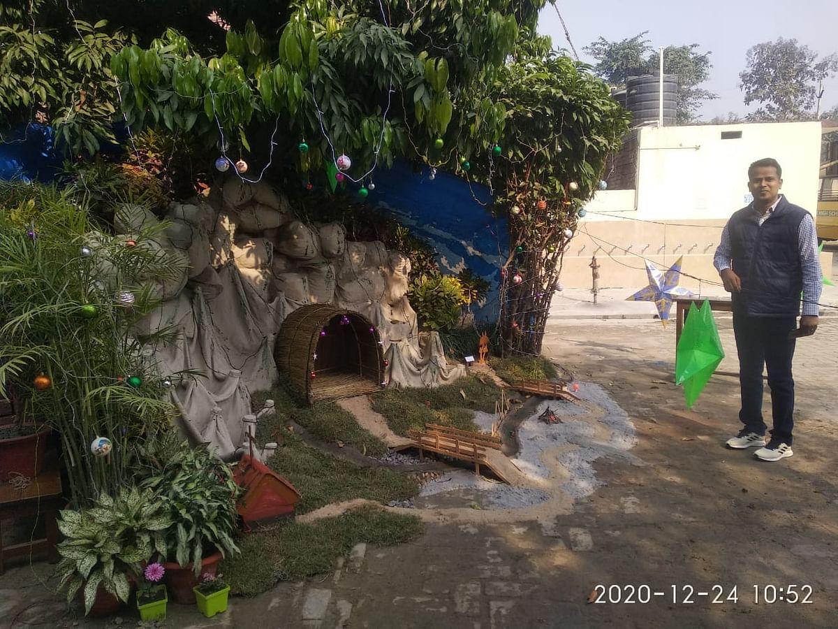 कुशीनगर में क्रिसमस की तैयरियां तेज, कोविड से मुक्ति की होगी प्रार्थना