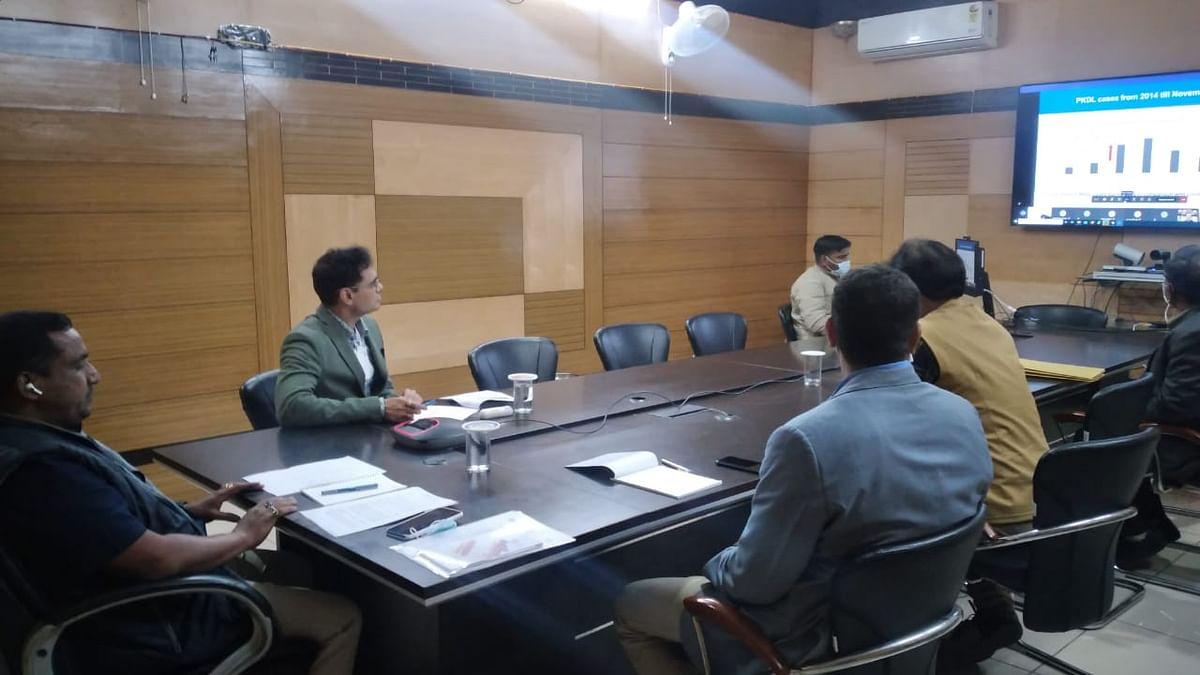 बन्ना गुप्ता ने की केंद्रीय स्वास्थ्य मंत्री डॉ. हर्षवर्धन से बात