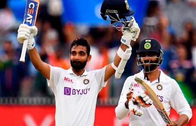 मेलबर्न टेस्ट:  भारतीय कप्तान अजिंक्य रहाणे को मुलाग मेडल से किया गया सम्मानित