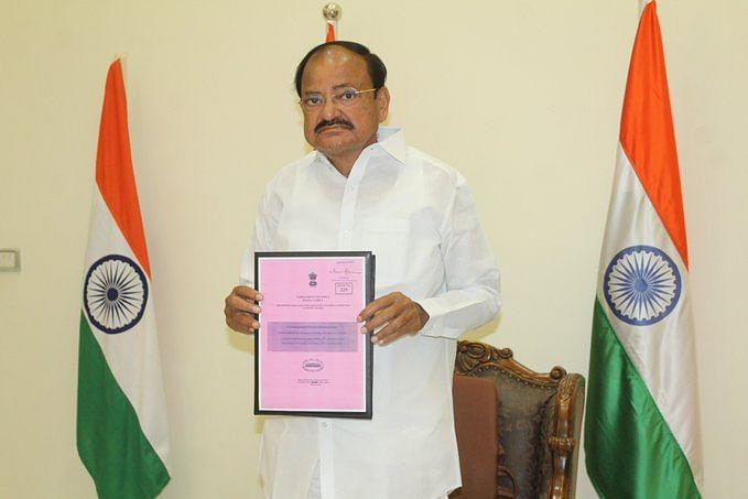 संसदीय समिति ने कोविड प्रबंधन पर राज्यसभा सभापति वेंकैया नायडू को सौंपी रिपोर्ट