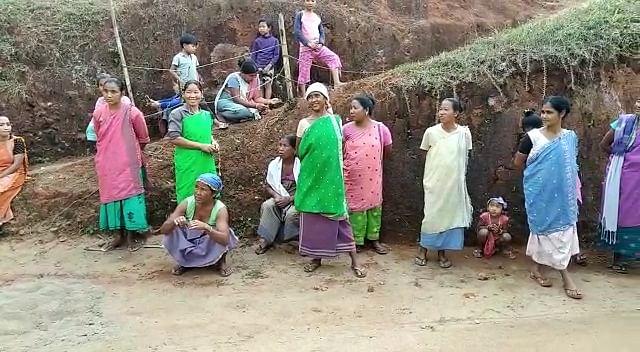 तिवा परिषदीय चुनावः आमरी कार्बी लोगों ने नहीं किया मतदान