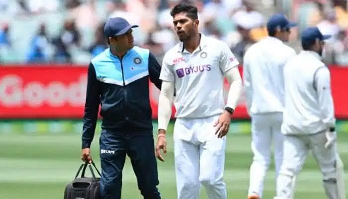 मेलबर्न टेस्ट : भारतीय टीम को झटका, चोटिल हुए उमेश यादव