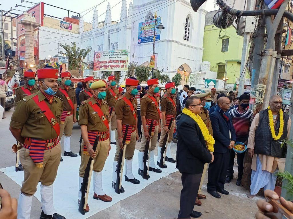 वाराणसी में शहीद उधम सिंह की जयंती उत्साह से मनी, दिया गया गार्ड ऑफ ऑनर