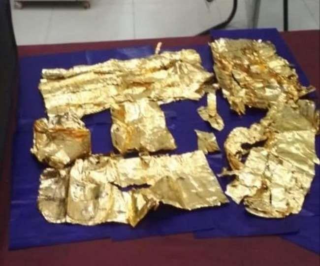 लखनऊ : अमौसी एयरपोर्ट पर कस्टम ने पकड़ा लाखों का सोना