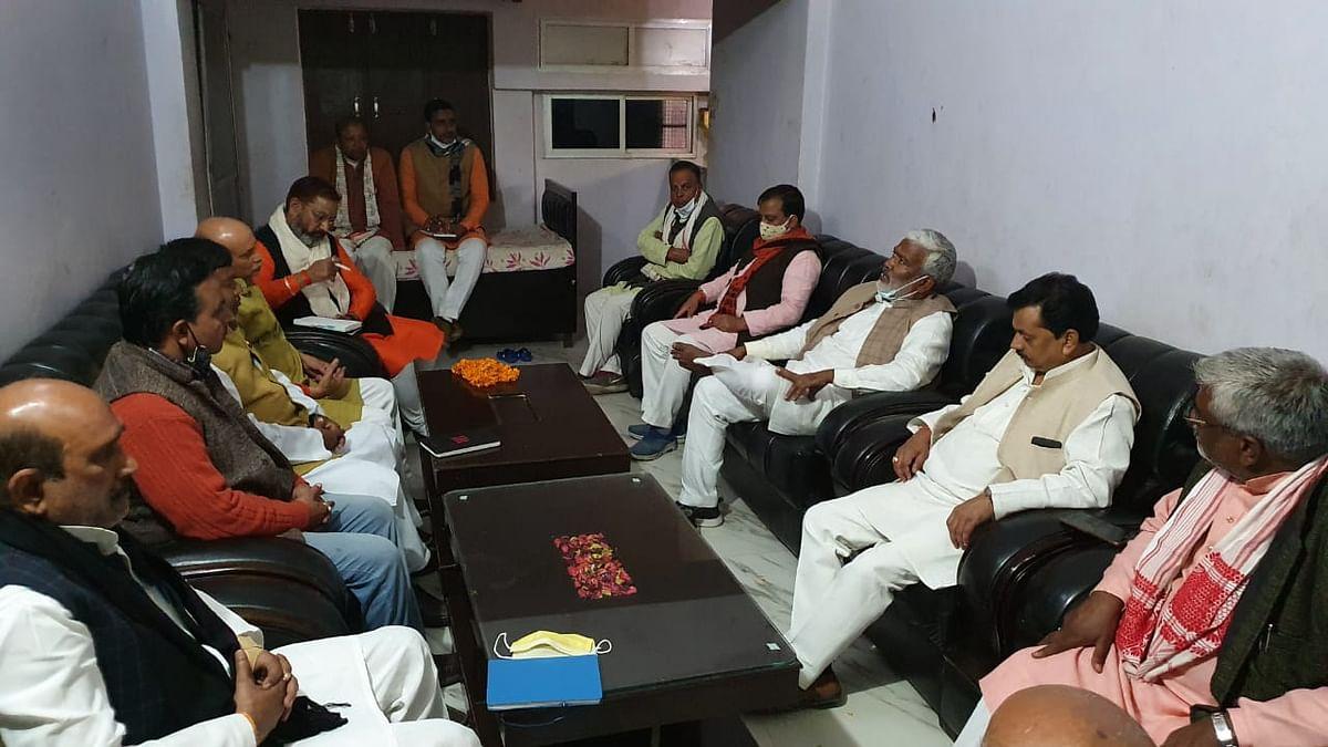 Increase activism in villages regarding three-tier panchayat elections: Swatantra Dev Singh