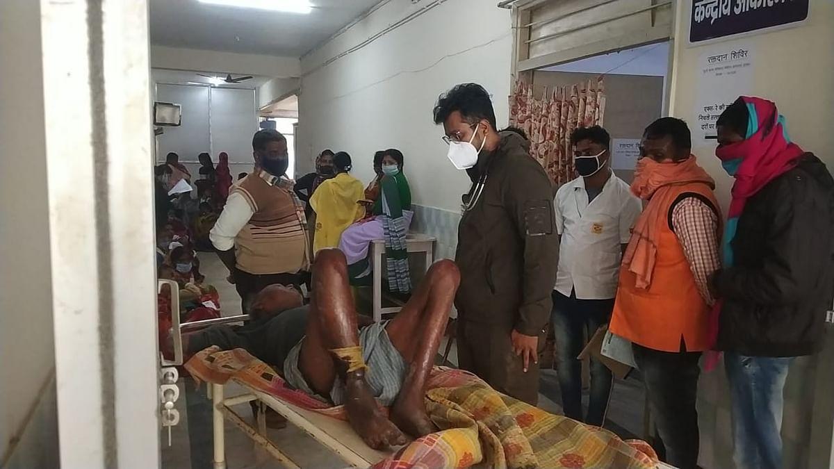 हार्डकोर नक्सली ताला दा के पिता बद्रीनाथ राय अस्पताल में भर्ती