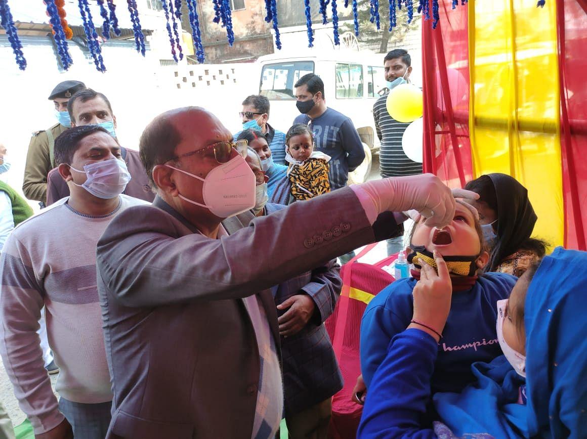 विटामिन ए खुराक  अभियान के तहत 239331 बच्चें को वितरण का लक्ष्य