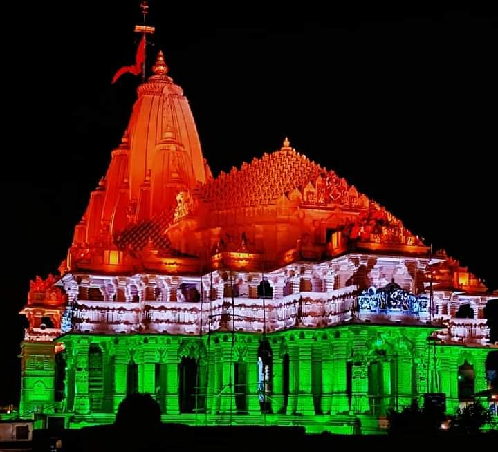 Three-storey structure below the Somnath temple site, archeology experts claim