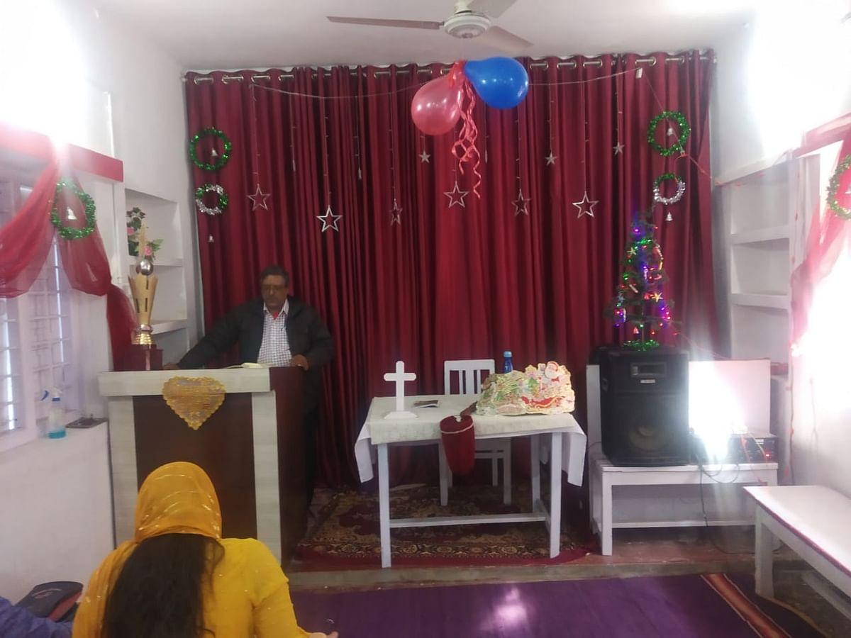 प्रभु यीशु जन्म गिरजाघरों में आयोजित हुई विशेष प्रार्थना सभाएं