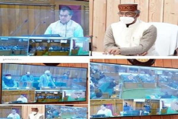 उत्तराखंड विधानसभा का शीतकालीन सत्र शुरू, सीएम ने किया वर्चुअल प्रतिभाग