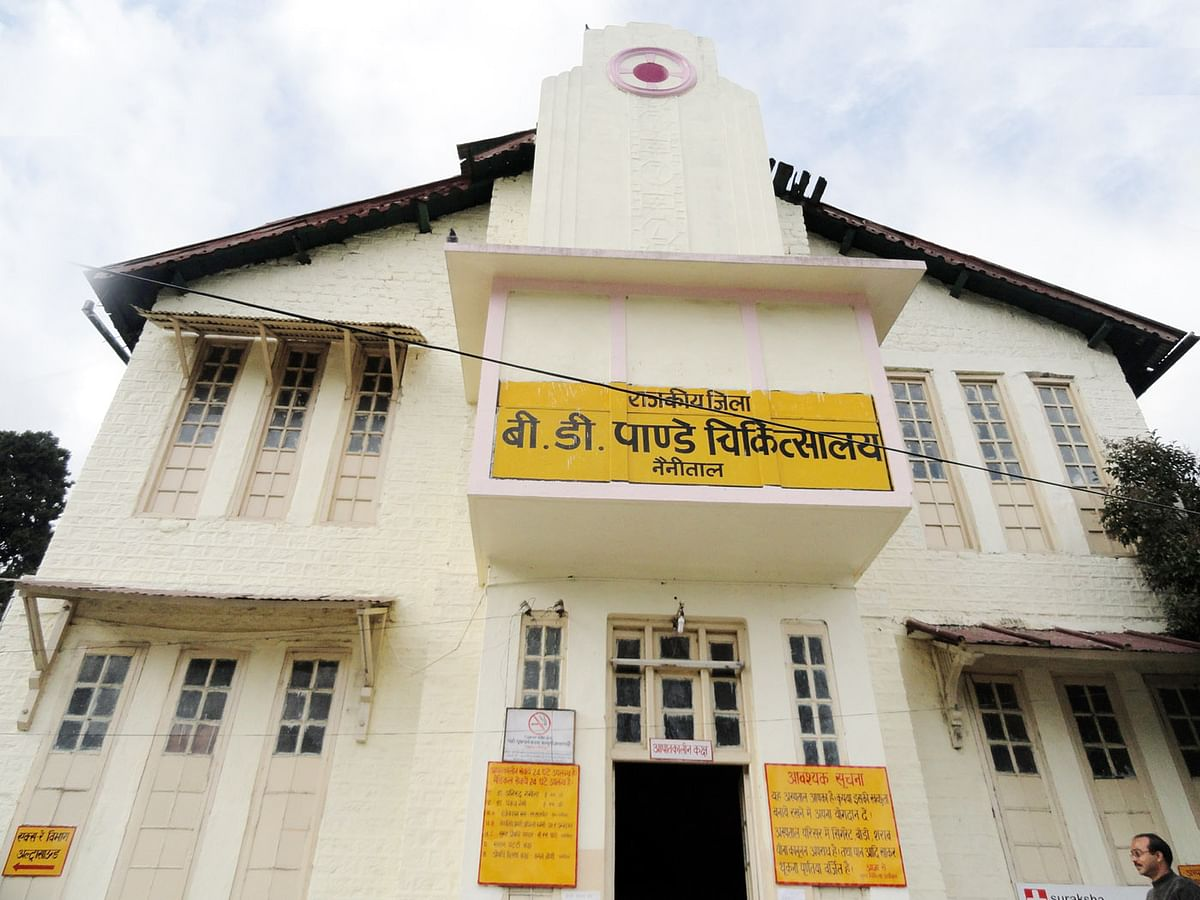 23.34 lakhs approved for construction in district hospital